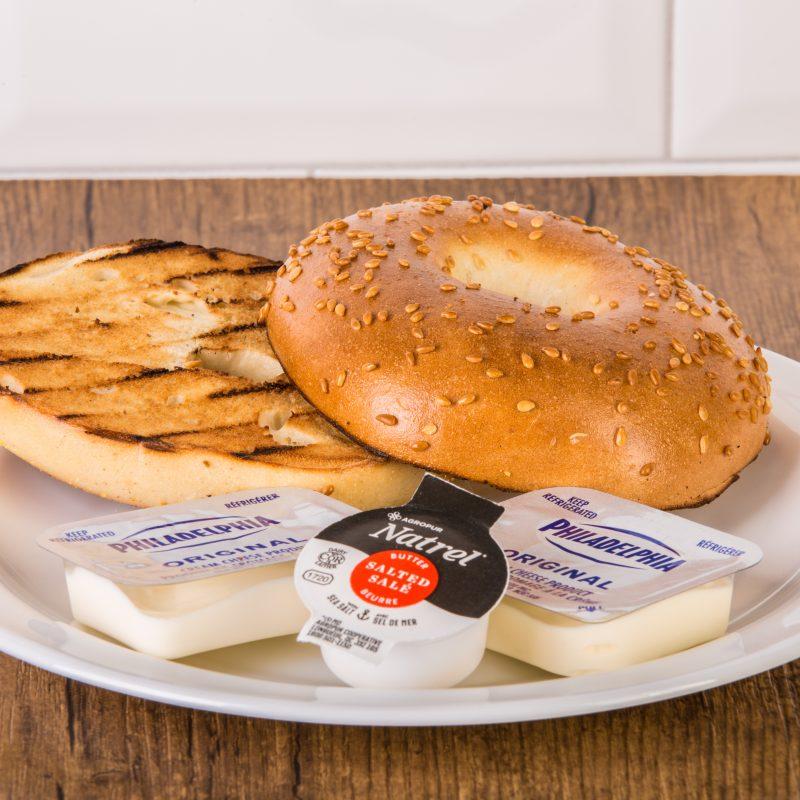 Bagel fromage à la crème